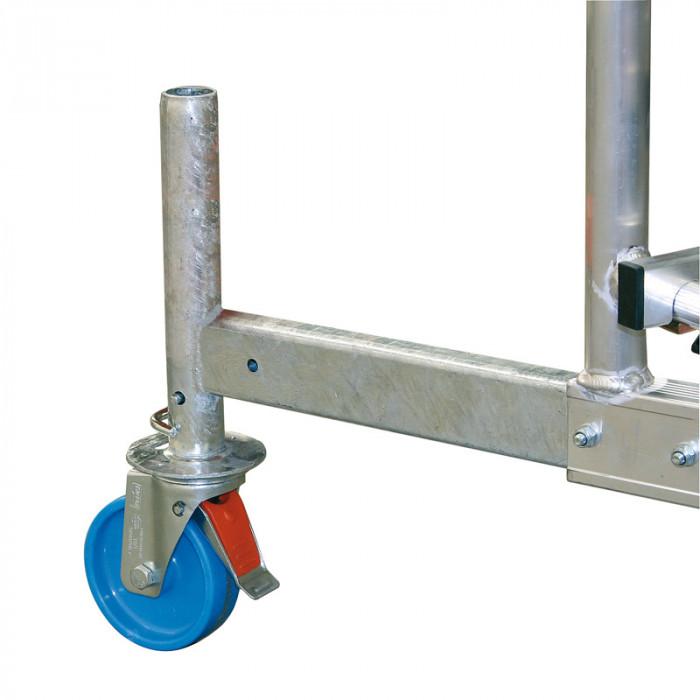 Колела за стълба Climtec комплект Ø 125 мм
