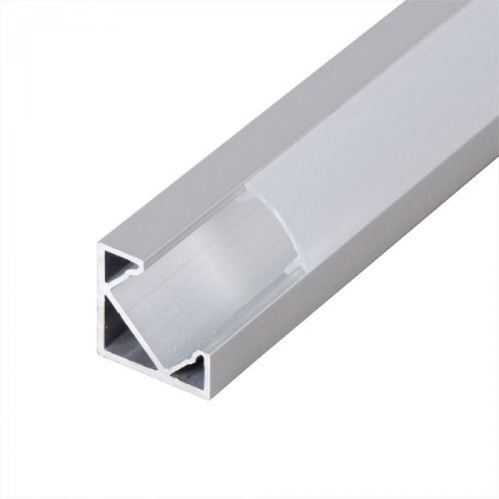 Алуминиев профил за led лента ъглов