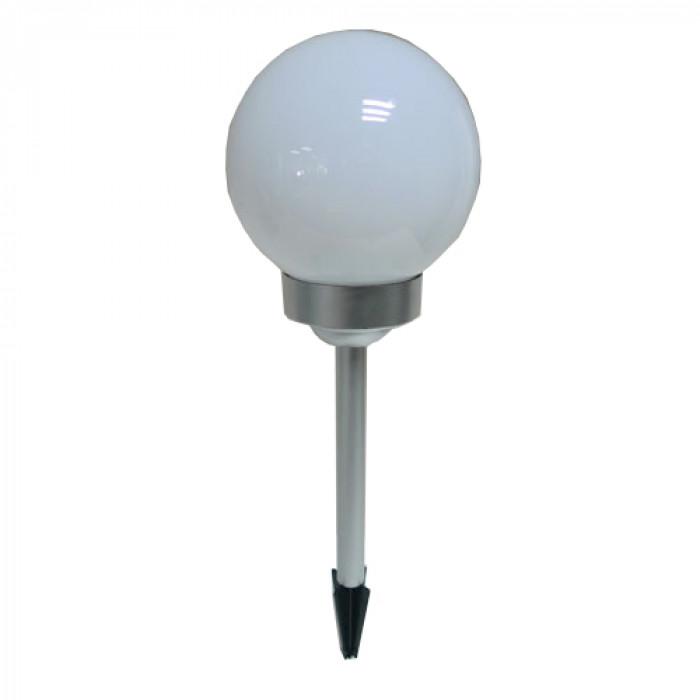 Соларна LED лампа за градина сфера