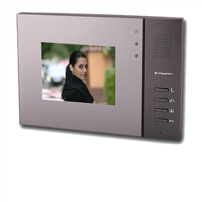 Видеодомофон цветен 5`` TFT високоговорител