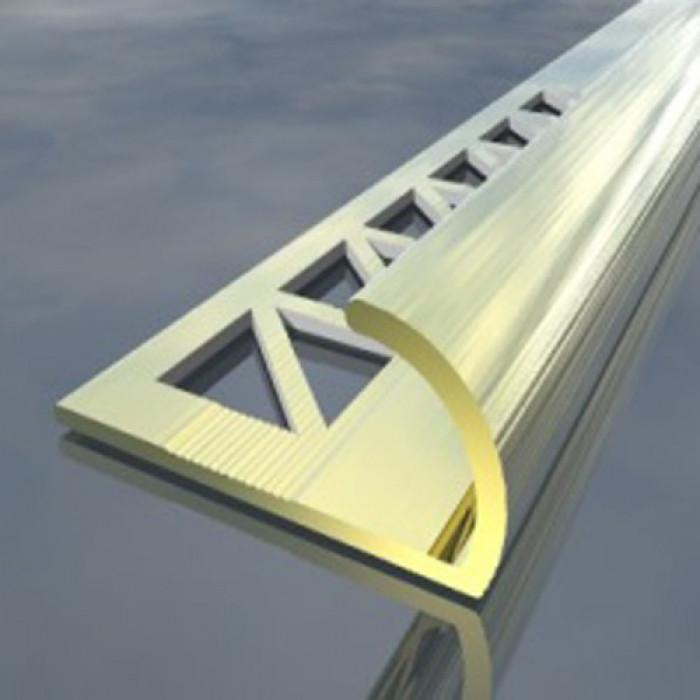 Лайсна алуминиева външен ъгъл 12 мм сребро 2.5 метра