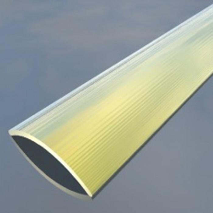 Преходна алуминиева лайсна 29.5мм сребро 2.7 метра