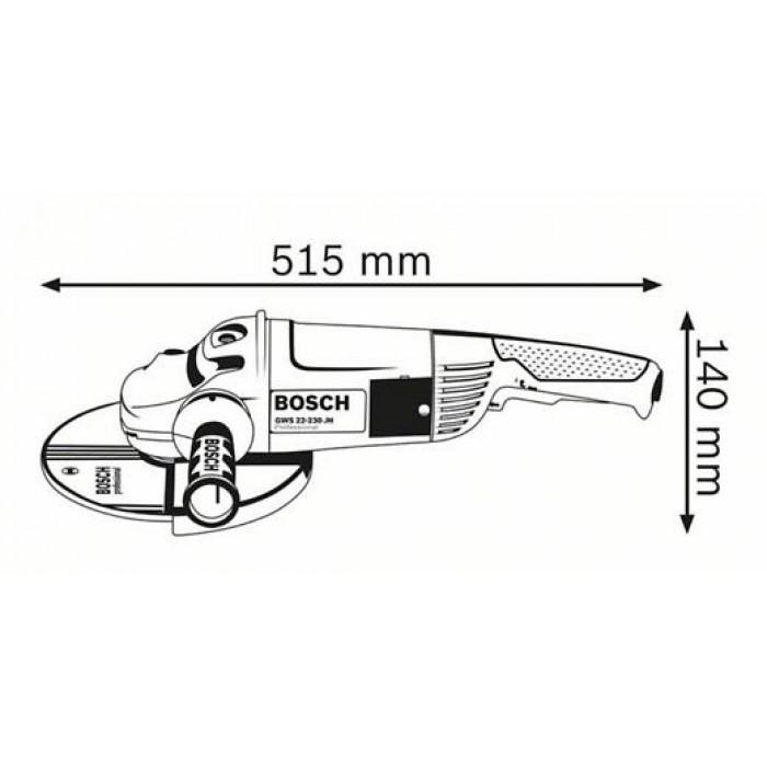 Ъглошлайф Bosch GWS 22-230 JH / 230 мм