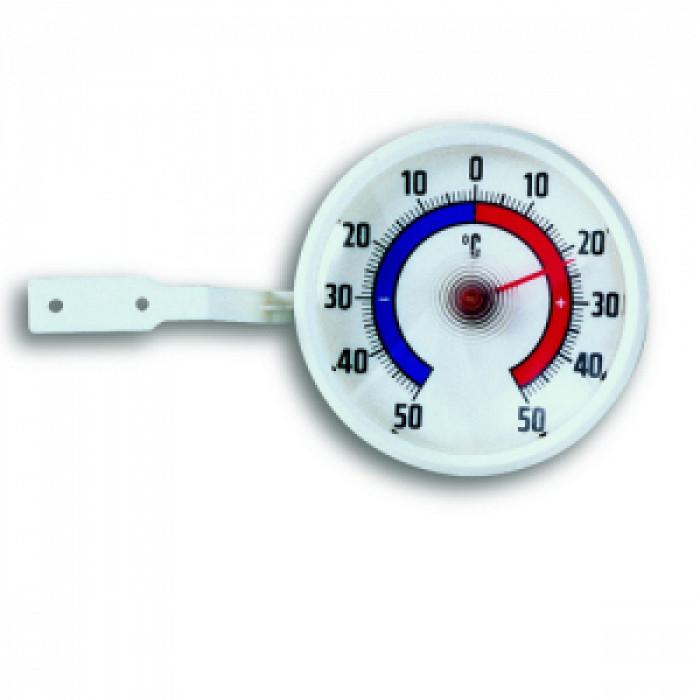 Термометър за прозорец с биметална пластина