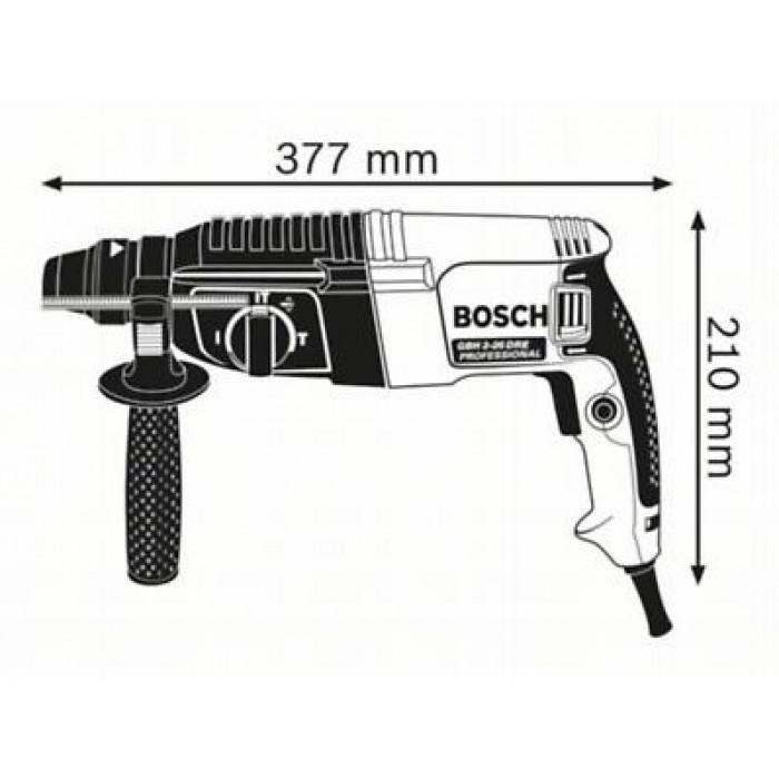 Перфоратор Bosch GBH 2-26 DRE 800 W / 2,7 J