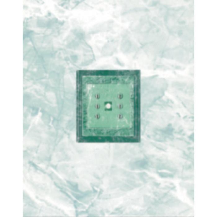 Стенни декоративни плочки 200х250 Силва зелени