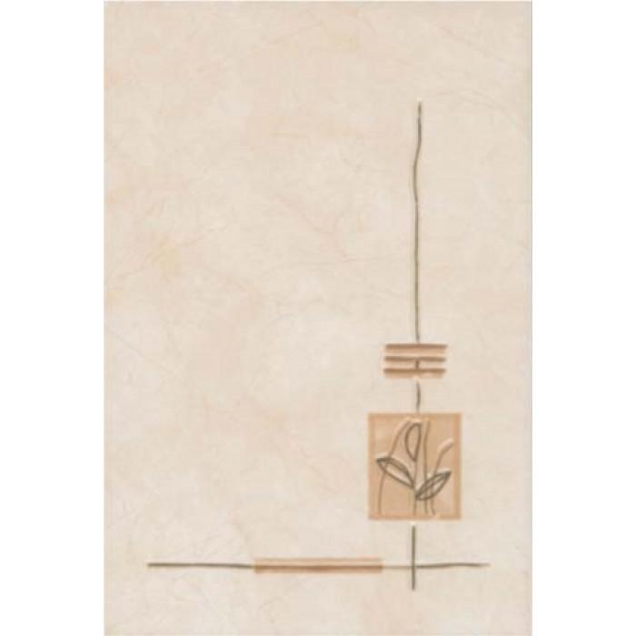 Стенни декоративни плочки ирис 200x300 кафяв лукс