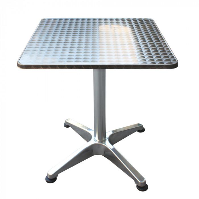 Алуминиева квадратна маса TLH-051 / 60х60 см
