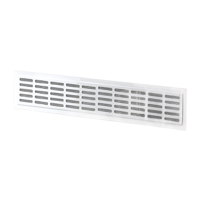 Метална решетка Vents MVM 5-3K 250x0,8x80мм бяла