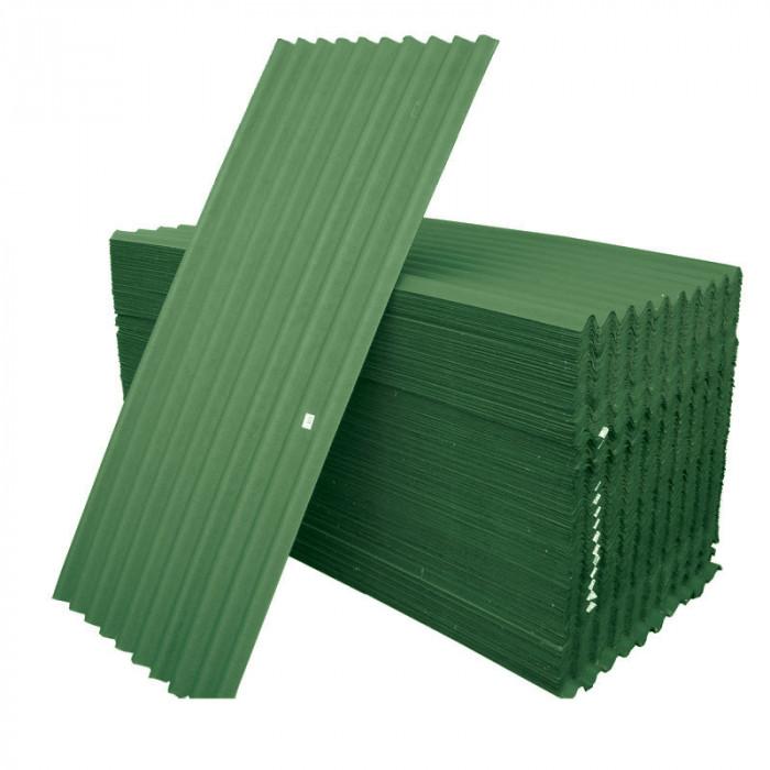 Битумни вълнообразни плоскости 2 x 0.91м зелени