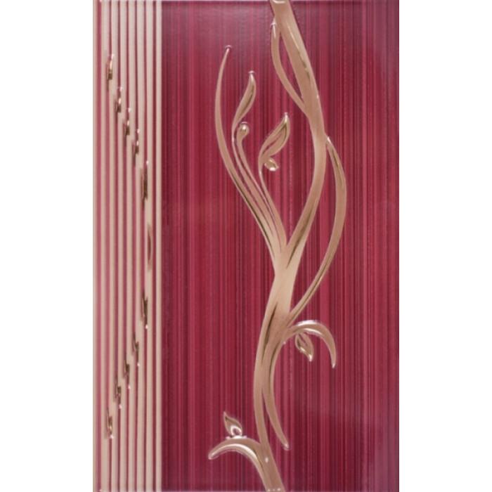 Стенни декоративни плочки 250 x 400 Сорел бордо