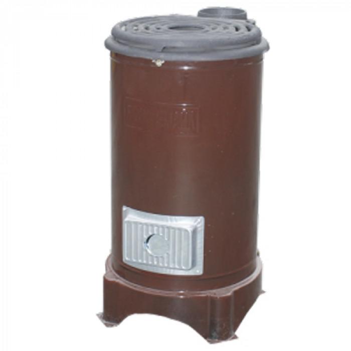 Емайлирана отоплителна печка на твърдо гориво Чудо Роза емайл 6,6 kW