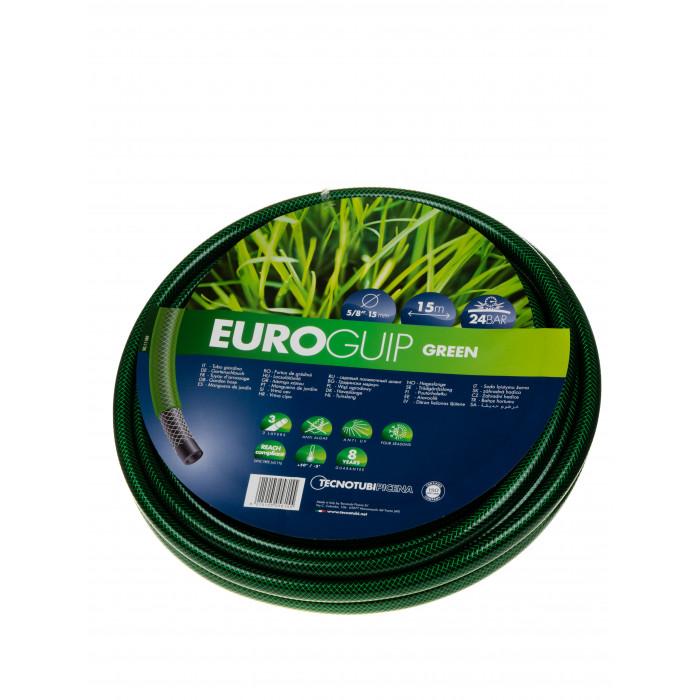 Градински трислоен маркуч Euro guip 15мм 5/8'' 15м