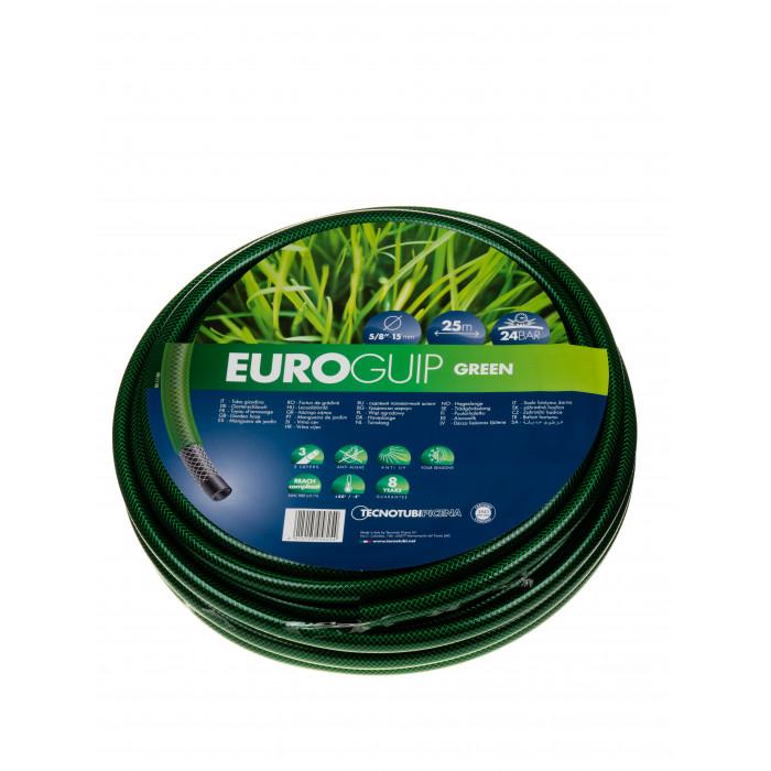 Градински трислоен маркуч Euro guip 15мм 5/8`` 25м