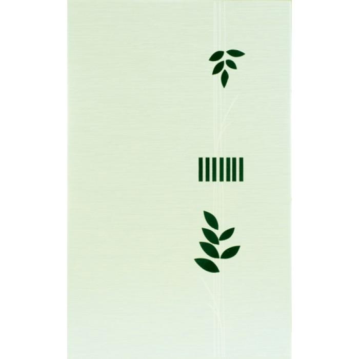 Декор лотос зелен