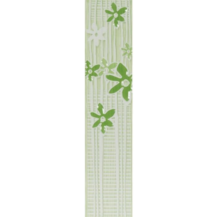 Плочки за стенна декорация / фриз 50x250 Лотос-2 зелени