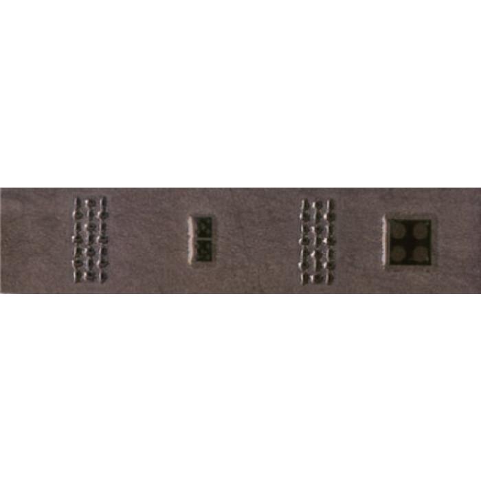 Плочки за стенна декорация / фриз 55x250 Реджина домино лукс тъмнокафяви