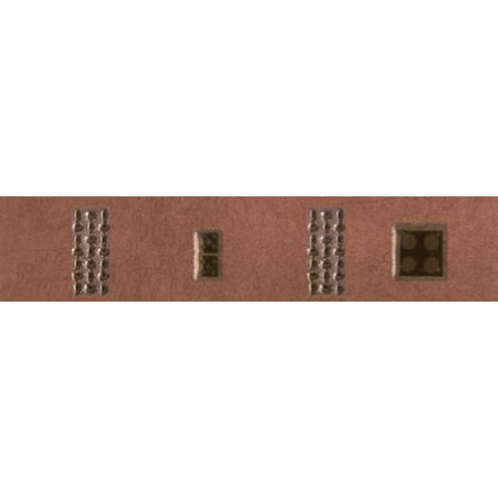 Плочки за стенна декорация / фриз 55x250 Реджина домино лукс бордо