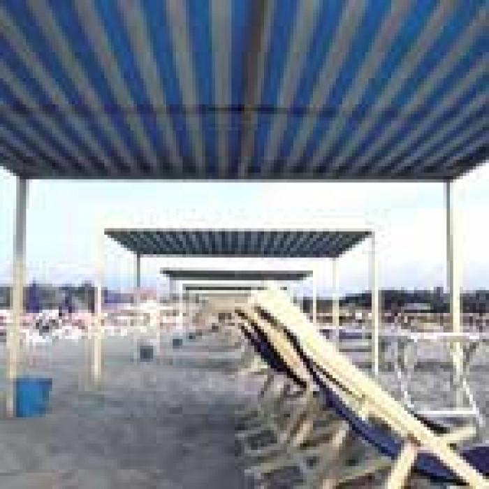 Засенчваща мрежа  2490 FRANGISOLE BARREE BA-BLUE 75% -  3 х 100 м