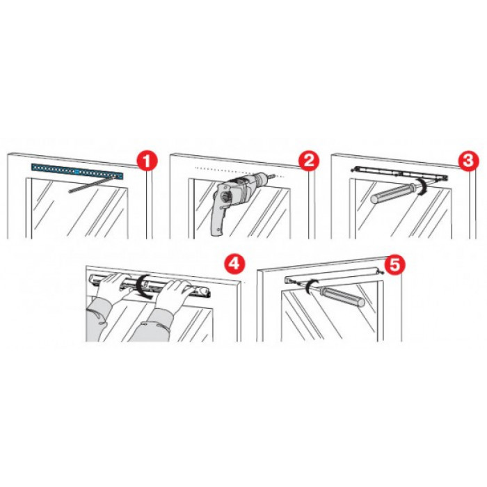 Решетка за дограма РО 400 / 400x56,8x25 мм