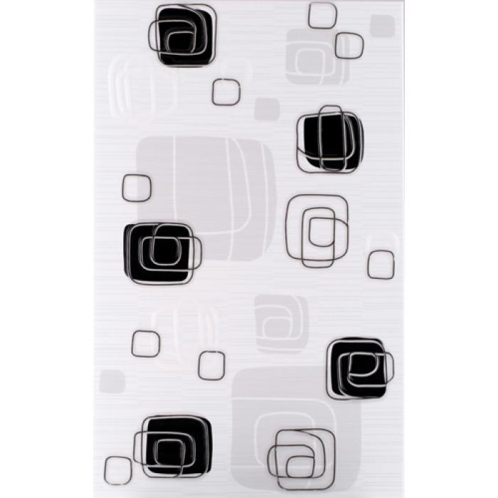 Плочки за стенна декорация 250 x 400 Линеа лукс черни