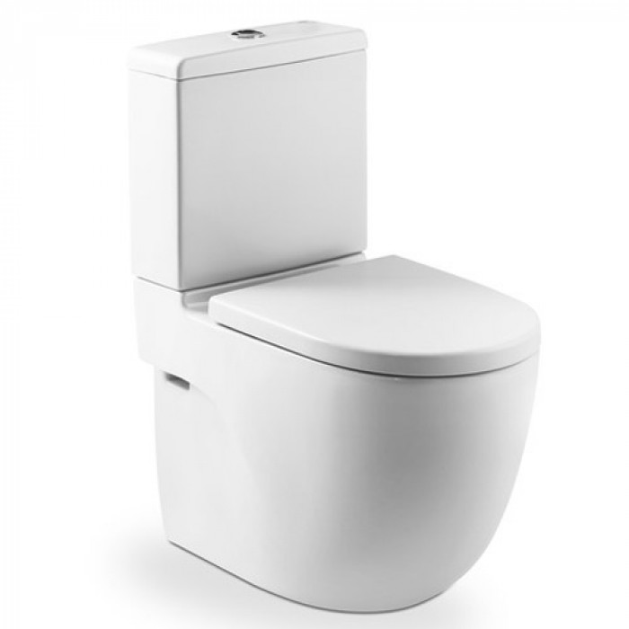 Тоалетна чиния с двойно оттичане Roca Meridian