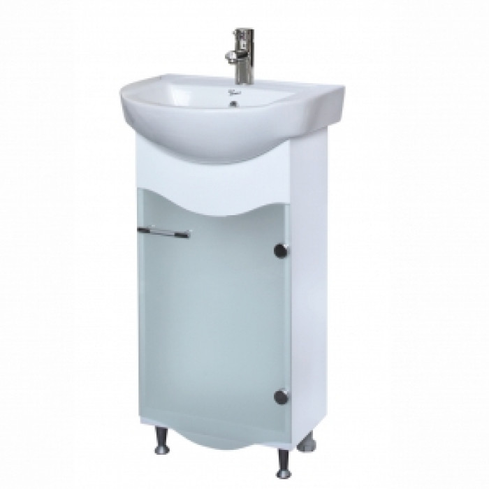 Долен шкаф за баня с мивка Поло
