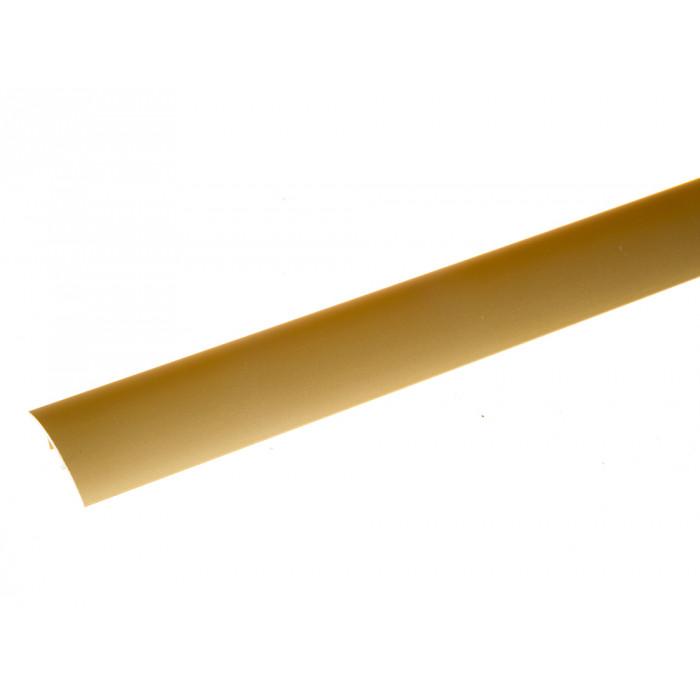 Преходна алуминиева лайсна S10 злато 30мм