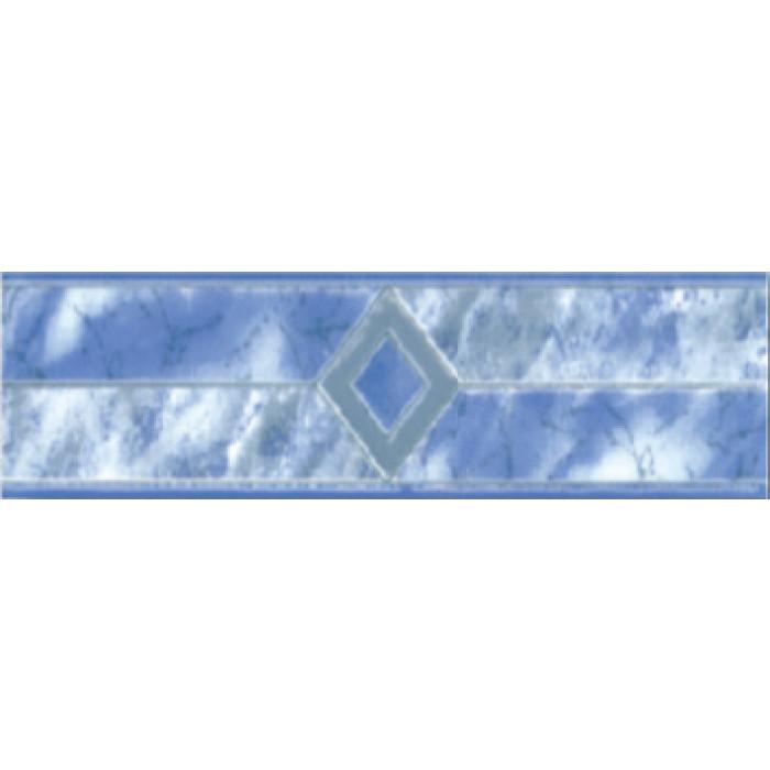 Плочки за стенна декорация / фриз 60 x 200 Силва комфорт сини