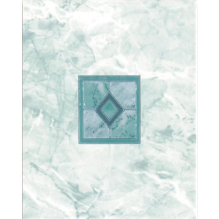Плочки за стенна декорация център 200 х 250 Силва комфорт зелени