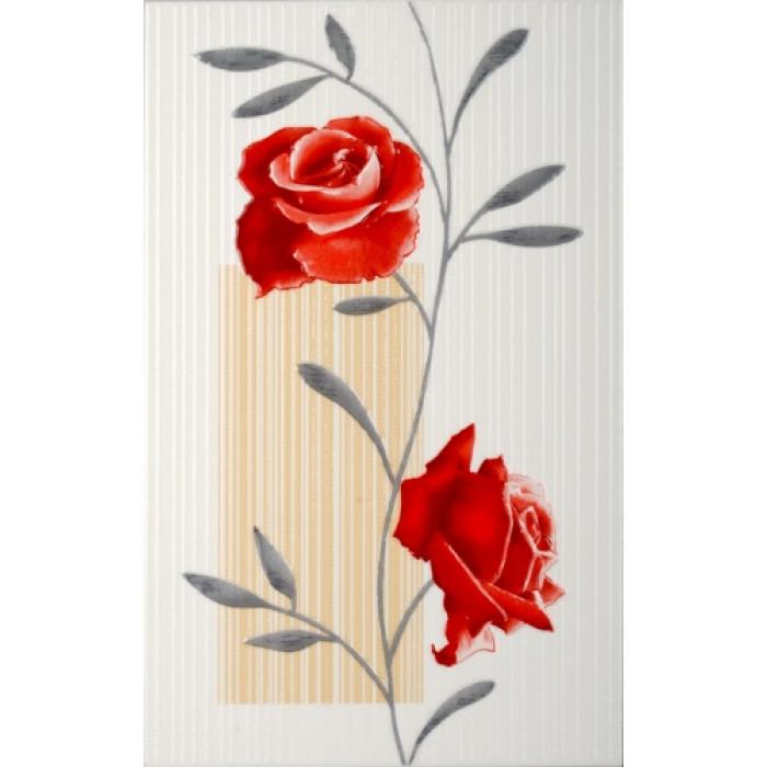 Стенни декоративни фаянсови плочки 250 x 400 Амира Червена КОМФОРТ 8731