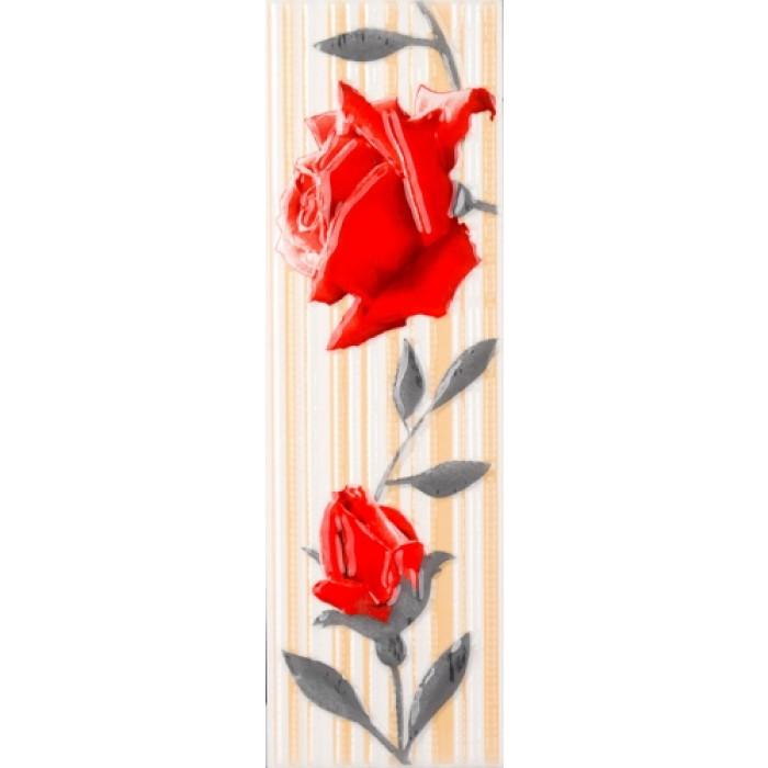Плочки за стенна декорация / фриз 75 x 250 Амира комфорт червени