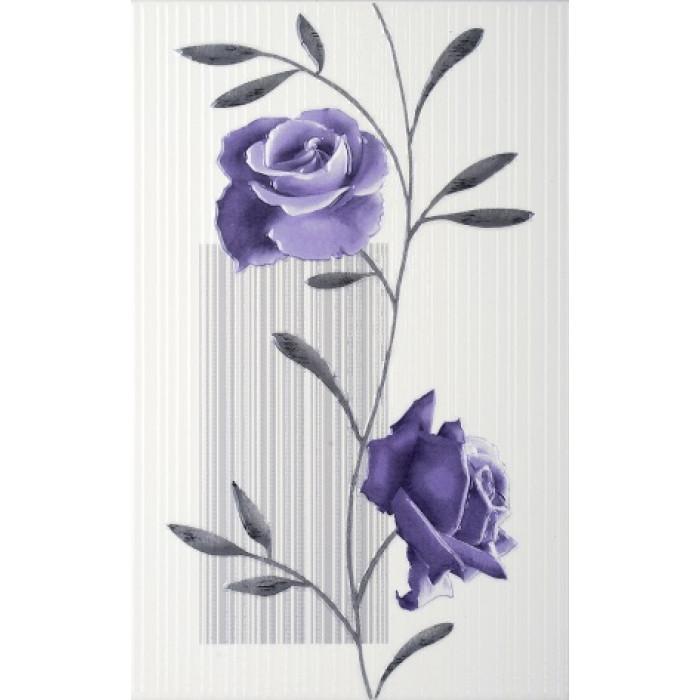 Стенни декоративни фаянсови плочки 250 x 400 Амира комфорт виолетови