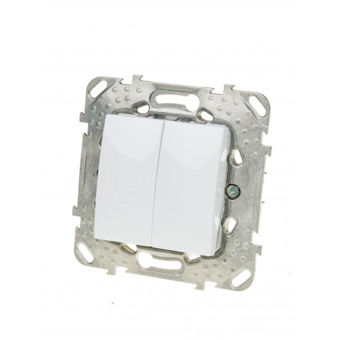 Електрически ключ механизъм Unica Basic MGU50.211.18Z схема 5