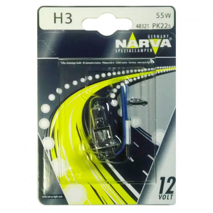 Халогенна крушка Narva H3 12V 55W Pk22s