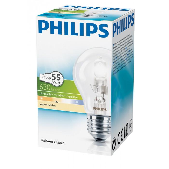 Халогенна крушка Philips Екокласик 30 630lm