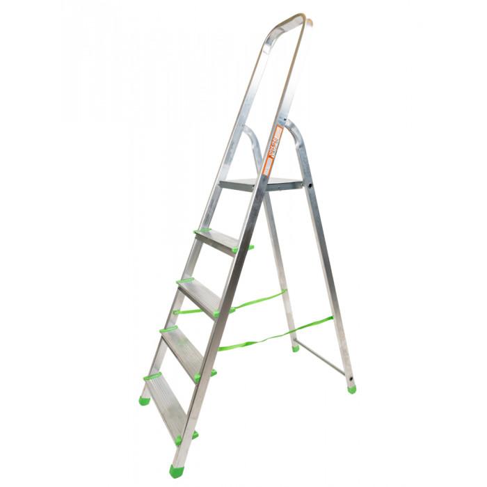 Алуминиева стълба 4+1 стъпала