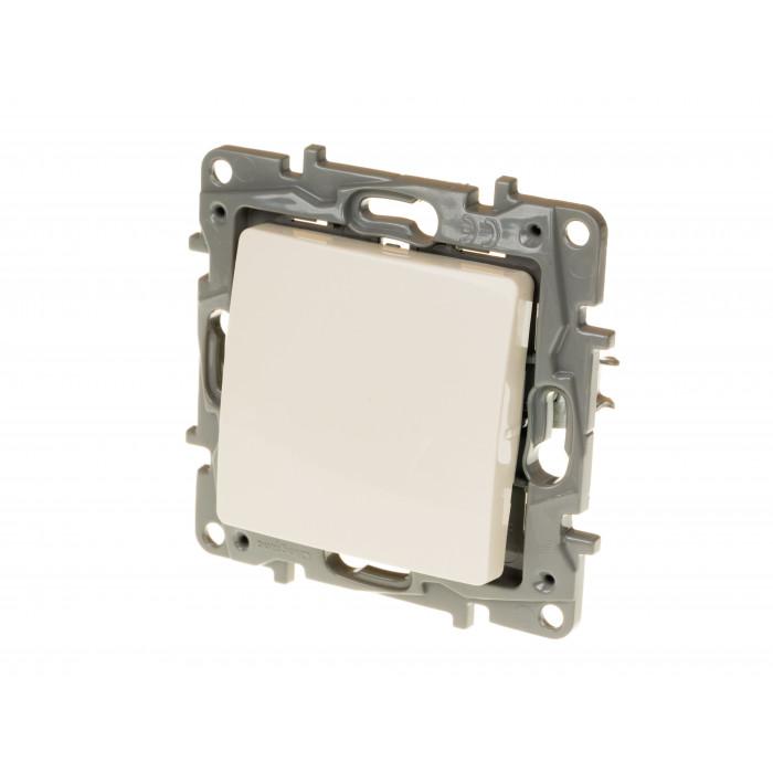 Еднополюсен ключ Niloe 10AX / 250V / крем