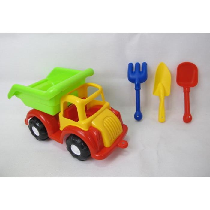 Комплект камион с формички за пясък