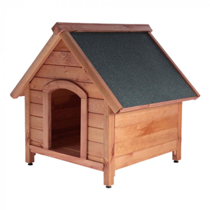 Дървена колиба за куче - размер S