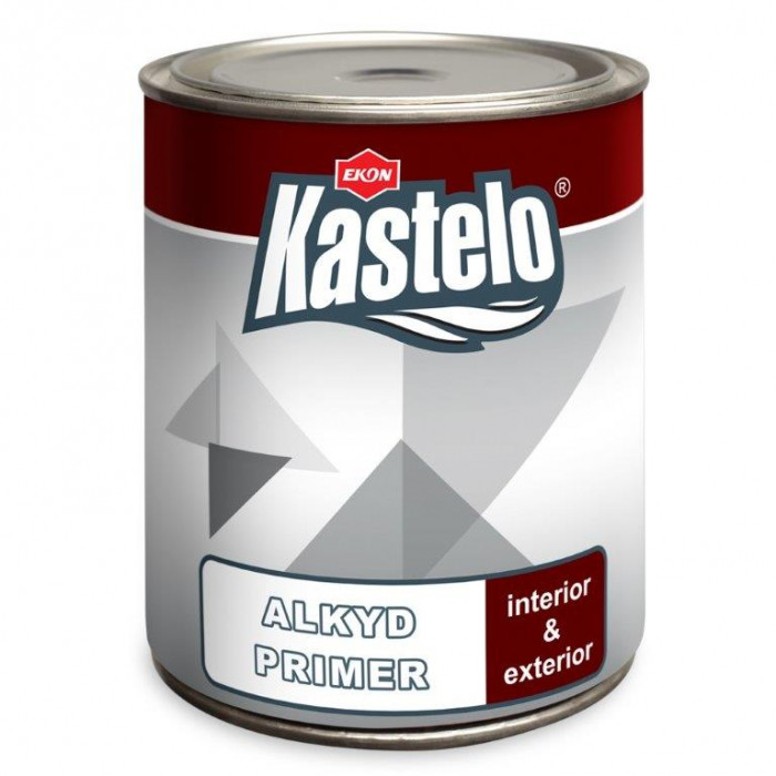 Грунд за метал Кастело 0,950кг червен