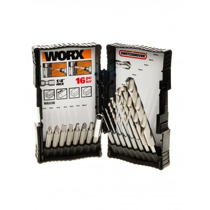 Акумулаторна бормашина Worx WX176.9 / 20V 30Nm