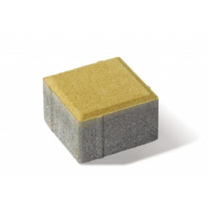 Паве Рубик жълт цвят
