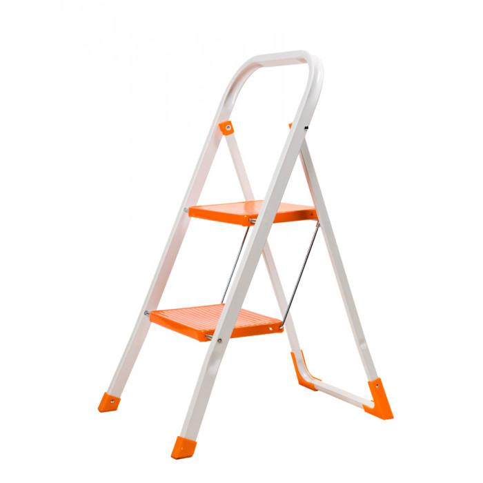 Домакинска метална стълба 2 стъпала