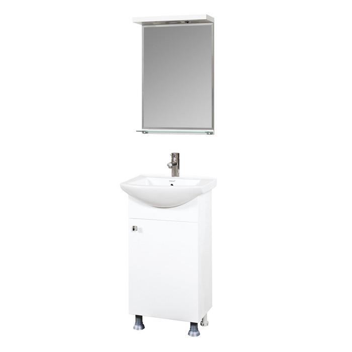 Долен шкаф за баня с мивка Макена Еко