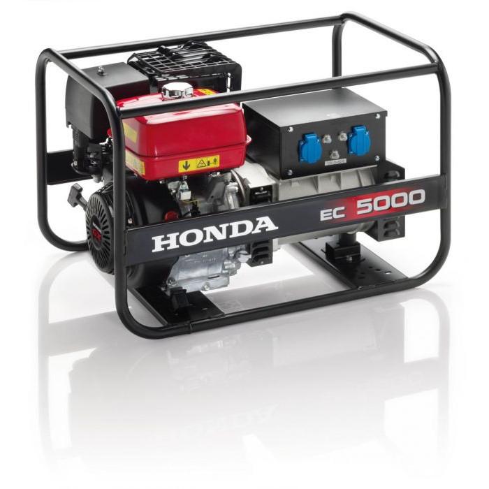 Бензинов монофазен генератор Honda EC 5000K1 GV / 4500W