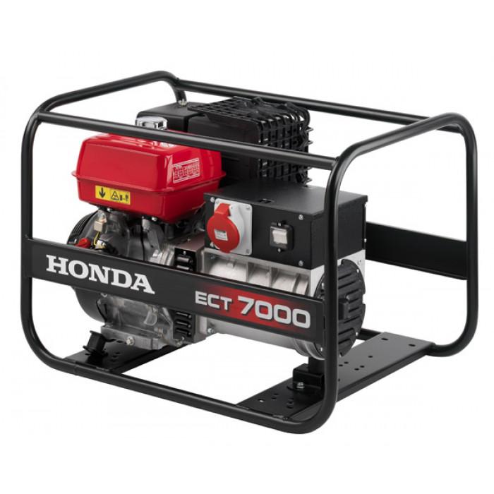 Бензинов моно / трифазен генератор Honda ECT 7000K1 GV 3600 / 6500W