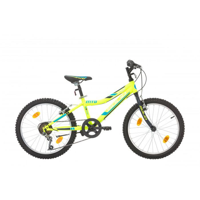 "Велосипед Solid Stone 20"" 6 скорости зелен"