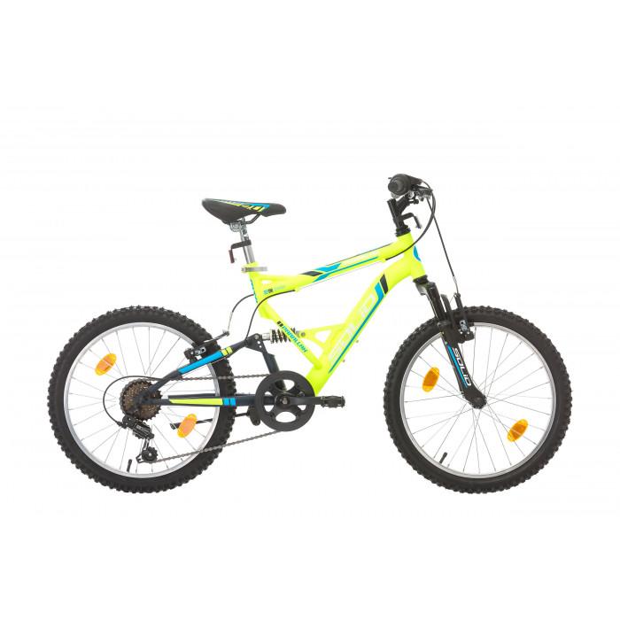 "Велосипед Solid Parallax 20"" 6 скорости синьозелен"