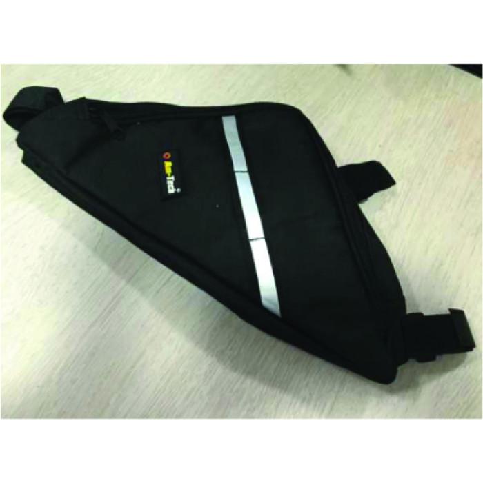 Триъгълна чанта за велосипед Everest BS91311 черна